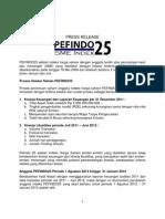 Pefindo25 Period Sd Jan2013