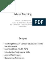Micro Teaching Class 1
