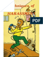 Techniques of Harassment
