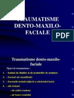 traumatisme dento maxilo faciale