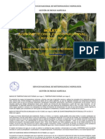 Boletín Agrometeorológico Nacional Decadal Nro. 4-2do Decadal de NOVIEMBRE del 2012