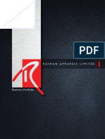 Raihan Apparels Limited - Company Portfolio