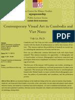 Contemporary Visual Art in Cambodia and Viet Nam