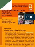 7. Presentación FRONTERAS ECUADOR-FINAL