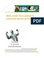 Nitric Oxide Your Answer to Enhanced Sports Performance