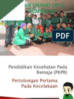 Pendidikan Kesehatan Pada Remaja (PKPR)