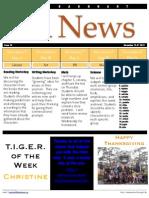 November 12 News