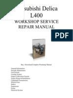 Mitsubishi Delica l300 User Manual