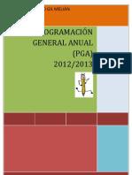 PROGRAMACIÓN GENERAL ANUAL (PGA) 2012/2013