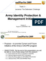 Army PKI Slides on CAC Cards