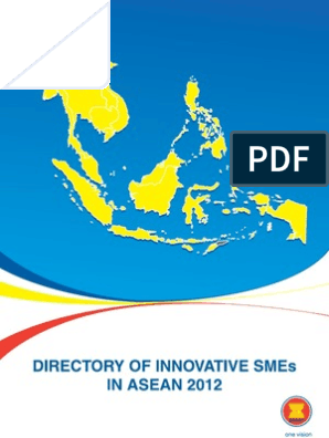 Directory of Innovative SMEs in ASEAN 2012 | Association Of