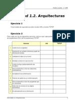 RL - Actividad 1.2 - Arquitecturas (1)