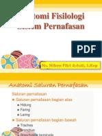 Anatomi Fisilologi Sistem Pernafasan