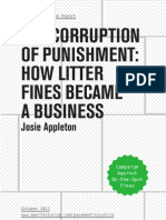 Corruption of Punishment
