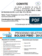 CARTAZ Oficina2012
