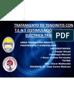 Tratamiento de Tendinitis Con t