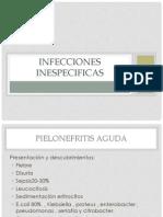 Infecciones Inespecificas urologia