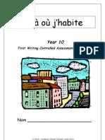 La Ou j'Habite-booklet