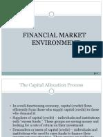 Financial Market Environment