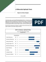 DAT Sample Report