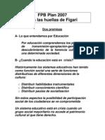 FPB 2007 Tras Las Huellas de Figari