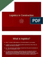 Logistics in Construction_grp 5