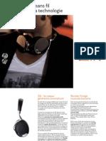 Zik, Le casque sans fil à la pointe de la technologie