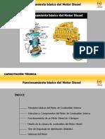 Funcionamiento básico del Motor Diesel