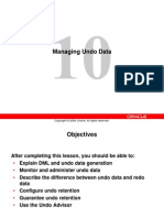 Less10 Undo - Managing Undo Data