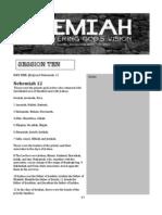Nehemiah Session Ten