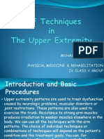 PNF Techniques in the Upper Extremity
