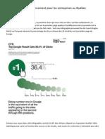 L'importance du référencement pour les entreprises au Québec document