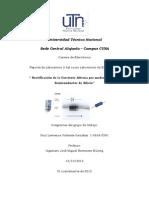 Rectificación del Diodo Semiconductor