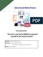 Gr 8 - Online Social Media Project