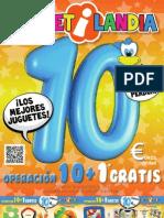 Catálogo juguetes a 10€