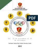 directiva 2012 juegos CMFB