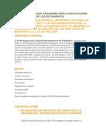 Mexico en PISA 2006 Para Entregar