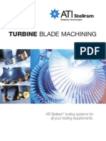 Turbine Blade Machining