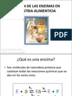 Enzimas en La Industria Alimenticia