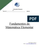 Apostila - Fundamentos de Matemática Elementar
