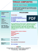 Formation Continue Les Materiaux Composites 2013