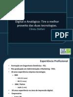 DIGITEC - Digital Analogico Tire o Melhor Proveito Das Duas Tecnologias