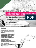 Territorios Inteligentes para Ciudadanías Emergentes. Doménico di Siena