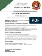 Executive Order No. 2