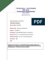 SENTENCIA DEL TRIBUNAL SUPREMO ESPAÑOL (CASO ACCESS-INFO)