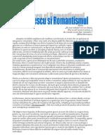 Eminescu si Romantismul