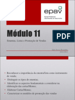 Módulo 11 - Ementas_Listas e Promoção de Vendas