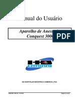 MAN 008 Manual Aparelho de Anestesia Conquest 3000 Rev 05