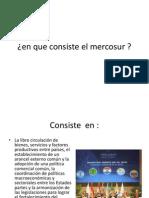 En Que Consiste El Mercosur
