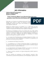 31-01-2012 Profa. Hortensia Maria Luisa Noroña Quezada toma protesta como Directora del Sistema DIF Guadalajara